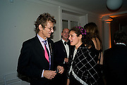 MATTHEW CARR; GINEVRA ELKANN, Nicky Haslam party for Janet de Botton and to celebrate 25 years of his Design Company.  Parkstead House. Roehampton. London. 16 October 2008.  *** Local Caption *** -DO NOT ARCHIVE-© Copyright Photograph by Dafydd Jones. 248 Clapham Rd. London SW9 0PZ. Tel 0207 820 0771. www.dafjones.com.