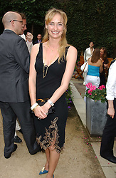CLEMENTINE HAMBRO at the Tatler Summer Party in association with Moschino at Home House, 20 Portman Square, London W1 on 29th June 2005.<br /><br />NON EXCLUSIVE - WORLD RIGHTS