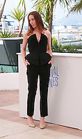 Jessica Erickson at the photo call for the film  Goodbye to Language (Adieu au langage) at the 67th Cannes Film Festival, Wednesday 21st  May 2014, Cannes, France.