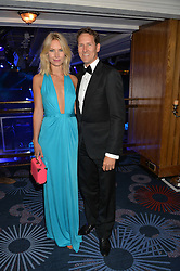 BRENDAN COLE and his wife ZOE at The Butterfly Ball in aid of Caudwell Children held at the Grosvenor House, Park Lane, London on 25th June 2015