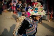 Hmong woman Bac Ha, Vietnam. January / 2018.