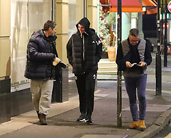 Jose Mourinho seen out and about in Manchester