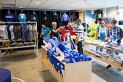 September 24, 2017 - Gent, BELGIUM - Illustration shows  the fanshop of the Jupiler Pro League team KAA Gent in Gent, Sunday 24 September 2017. BELGA PHOTO JASPER JACOBS (Credit Image: © Jasper Jacobs/Belga via ZUMA Press)