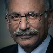 Portrait of Dr. Munir Sheikh, former Chief Statistician of Canada, at the Truth TEDx Calgary Talks ®Brett Gilmour