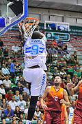 """DESCRIZIONE : Torneo Città di Sassari """"Mimì Anselmi"""" Dinamo Banco di Sardegna Sassari - Galatasaray<br /> GIOCATORE : Shane Lawal<br /> CATEGORIA : Schiacciata<br /> SQUADRA : Dinamo Banco di Sardegna Sassari<br /> EVENTO :  Torneo Città di Sassari """"Mimì Anselmi"""" <br /> GARA : Dinamo Banco di Sardegna Sassari - Galatasaray<br /> DATA : 14/09/2014<br /> SPORT : Pallacanestro <br /> AUTORE : Agenzia Ciamillo-Castoria / Luigi Canu<br /> Galleria : Precampionato 2014/2015<br /> Fotonotizia : Torneo Città di Sassari """"Mimì Anselmi"""" Dinamo Banco di Sardegna Sassari - Galatasaray<br /> Predefinita :"""