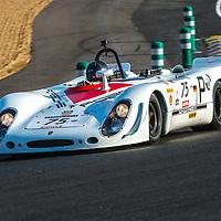 #75, Porsche 908/2 (1969), driver: Robert Fink, grid 5, on 06/07/2018 at the 24H of Le Mans, 2018