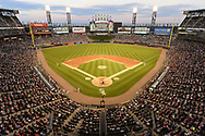 CHICAGO - JULY 10:  A general view of Guaranteed Rate Field as a crowd of 23, 245 looks on during the game between the St. Louis Cardinals and Chicago White Sox on July 10, 2018 at Guaranteed Rate Field in Chicago, Illinois.  (Photo by Ron Vesely)