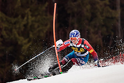 05.03.2017, Podkoren, Kranjska Gora, SLO, FIS Weltcup Ski Alpin, Kranjska Gora, Slalom, Herren, 1. Lauf, im Bild David Chodounsky (USA) // David Chodounsky of the USA in action during his 1st run of men's Slalom of FIS ski alpine world cup at the Podkoren in Kranjska Gora, Slovenia on 2017/03/05. EXPA Pictures © 2017, PhotoCredit: EXPA/ Johann Groder