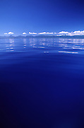 Calm water off Oahu, Hawaii<br />