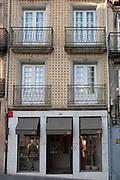 storefront at Rua da Vitoria in the Old Town of Porto, Portugal