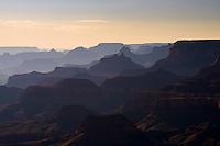 View at sunset from Lipan Point, Grand Canyon National Park, Arizona, USA