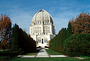 CHICAGO, HISTORIC ARCH. Ba'Hai Temple, BaHai Religion,  Wilmette, North suburb