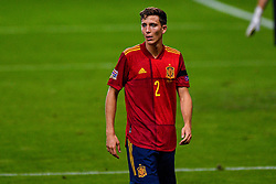 SEVILLE, SPAIN - Tuesday, November 17, 2020: Diego Llorente of Spain during the UEFA Nations League match between Spain and Germany at Estadio La Cartuja de Sevilla on november 17, 2020 in Seville, Spain (Photo by Jeroen Meuwsen/Orange Pictures)