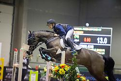De Clercq Jens, BEL, De Hofstede's Maartje<br /> Nationaal Indoorkampioenschap  <br /> Oud-Heverlee 2020<br /> © Hippo Foto - Dirk Caremans