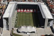 Belo Horizonte_MG, Brasil.<br /> <br /> Imagem aerea do Estadio Raimundo Sampaio, mais conhecido como Estádio Independencia, e um estadio de futebol localizado no bairro do Horto, em Belo Horizonte, Minas Gerais.<br /> <br /> Aerial view of Raimundo Sampaio stadium, better known as Independence Stadium, is a football stadium located in Horto neighborhood in Belo Horizonte, Minas Gerais.<br /> <br /> Fotos: LEO DRUMMOND / NITRO