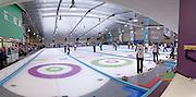 World Curling Championships seniors finals, Dumfries Ice Bowl, Scotland,April 2014