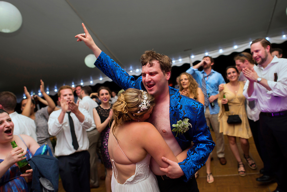 A wedding in Asbury Park, New Jersey.