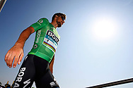Peter Sagan (SVK - Bora - Hansgrohe) Green jersey, during the 105th Tour de France 2018, Stage 8, Dreux - Amiens Metropole (181km) on July 14th, 2018 - Photo Luca Bettini / BettiniPhoto / ProSportsImages / DPPI