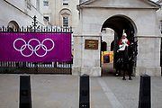 Horse Guards Parade which was home to beach volleyball during the London 2012 Olympics Games.