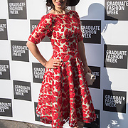 Talent arriver at the Graduate Fashion Week 2018, June 6 2018 at Truman Brewery, London, UK.