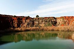 Le cave di  bauxite (Otranto)