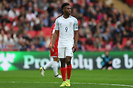 Daniel Sturridge of England looking on. FIFA World cup qualifying match, european group F, England v Malta at Wembley Stadium in London on Saturday 8th October 2016.<br /> pic by John Patrick Fletcher, Andrew Orchard sports photography.