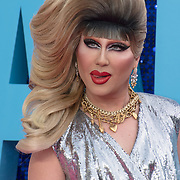 Jodie Harsh attended 'Everybody's Talking About Jamie' film premiere at Royal Festival Hall, London, UK. 13 September 2021