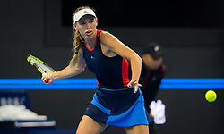 October 5, 2018 - Caroline Wozniacki of Denmark in action during her quarter-final match at the 2018 China Open WTA Premier Mandatory tennis tournament (Credit Image: © AFP7 via ZUMA Wire)