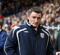 Photo: Mark Stephenson/Richard Lane Photography. <br /> West Bromwich Albion v Colchester United. Coca-Cola Championship. 29/03/2008. <br /> West Brom's manager Tony Mowbray
