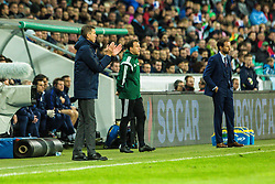 Srecko Katanec, head coach of Slovenia during football match between National teams of Slovenia and England in Round #3 of FIFA World Cup Russia 2018 qualifications in Group F, on October 11, 2016 in SRC Stozice, Ljubljana, Slovenia. Photo by Grega Valancic / Sportida