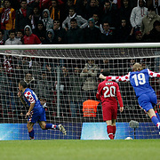 Croatia's Ivica OLIC goal (4ndL) during their UEFA EURO 2012 Play-off for Final Tournament First leg soccer match Turkey betwen Croatia at TT Arena in Istanbul Nüovember11, 2011. Photo by TURKPIX