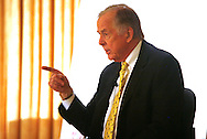 T. Boone Pickens at the Energy Biz conference in Washington DC on March 9 2009. Photo by Dennis Brack