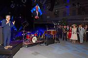 Opening nieuwe scheepswerf Feadship in Amsterdam door Koningin Maxima.<br /> <br /> Op de foto: Koningin Maxima