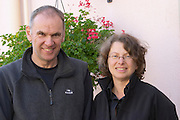Etienne Sipp and Martine Sipp-Kempf owner dom. louis sipp ribeauville alsace france