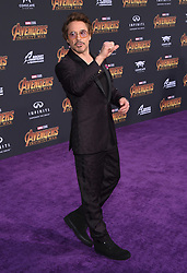 """World premiere of """"Avengers: Infinity War"""" held at the El Capitan Theatre on April 23, 2018 in Hollywood, CA. © O'Connor/AFF-USA.com. 23 Apr 2018 Pictured: Robert Downey Jr. Photo credit: O'Connor/AFF-USA.com / MEGA TheMegaAgency.com +1 888 505 6342"""