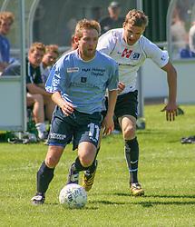 FODBOLD: Thomas Ryttov (Helsingør) under kampen i Kvalifikationsrækken, pulje 1, mellem Elite 3000 Helsingør og Lyngby Boldklub den 10. juni 2006 på Helsingør Stadion. Foto: Claus Birch