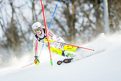 """Lena Duerr (GER) during FIS Alpine Ski World Cup 2016/17 Ladies Slalom race named """"Snow Queen Trophy 2017"""", on January 3, 2017 in Course Crveni Spust at Sljeme hill, Zagreb, Croatia. Photo by Žiga Zupan / Sportida"""