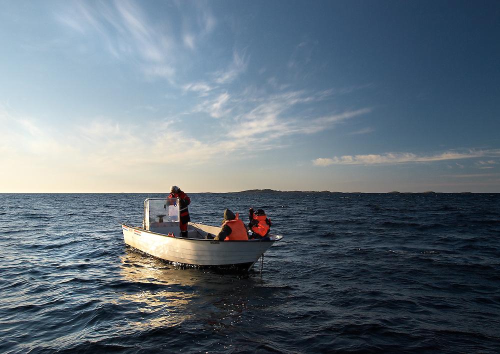 Norway - Fishing during sunset