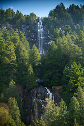Freil Falls, Hotham Sound, Sunshine Coast, British Columbia, Canada