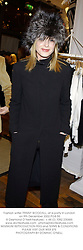 Fashion writer TRINNY WOODALL, at a party in London on 9th December 2002.PGB 55