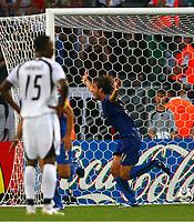 Jubel zum Tor 1:0 fuer Italien durch Andrea Pirlo<br /> Fussball WM 2006 Italien - Ghana<br /> Italia<br /> Norway only<br /> Fotball VM