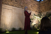 SALLY PARRY, Miss Sue Webster hosts the launch of her book <br /> 'I Was a Teenage Banshee' The Mole House , Dalston. 17 October 2019
