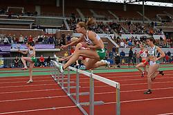 30-07-2011 ATLETIEK: NK OUTDOOR: AMSTERDAM<br /> Remona Fransen series 100 meter horden vrouwen<br /> ©2011-FotoHoogendoorn.nl / Peter Schalk