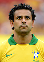 Fifa Brazil 2013 Confederation Cup / Group A Match /<br /> Brazil vs Japan 3-0  ( National / Mane Garrincha Stadium - Brasilia , Brazil )<br /> FRED of Brazil , during the match between Brazil and Japan