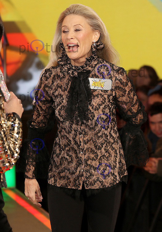 Angie Best, Celebrity Big Brother: WInter 2017 - Live Launch Show, Elstree Studios, Elstree UK, 03 January 2017, Photo by Brett D. Cove