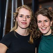 NLD/Amsterdam/20170315 - Inloop verkiezing  schaatser van het jaar 2017, Ireen Wust en ............