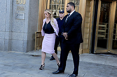 Court hearing with lawyer Cohen also attended by Stormy Daniels - 16 April 2018