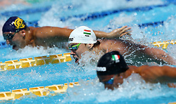 June 23, 2017 - Rome, Italy - Bence Pulai (HUN) competes in Men's 100 m Butterlfy during the international swimming competition Trofeo Settecolli at Piscine del Foro Italico in Rome, Italy on June 23, 2017..Photo Matteo Ciambelli / NurPhoto  (Credit Image: © Matteo Ciambelli/NurPhoto via ZUMA Press)