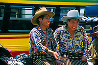 Market day, Solola, near Lake Atitlan, Western Highlands, Guatemala