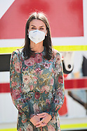 050521 Queen Letizia attends World Red Cross and Red Crescent Day 2021